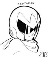 PAX 2010- Proto Man by Zubby
