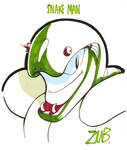 PAX East 2011- Snake Man