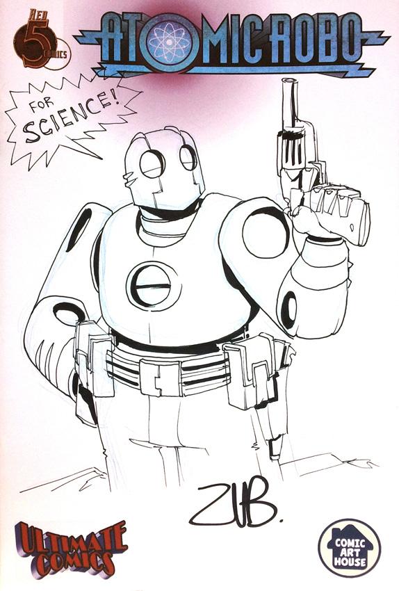C2E2 2011- Atomic Robo 1 by Zubby