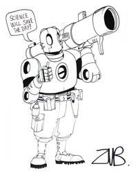 C2E2 2011- Atomic Robo 3