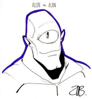 CCE2011- Allen the Alien