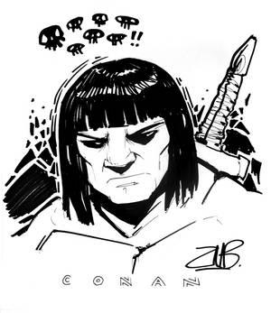 CCE2011- Conan the Barbarian
