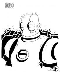 Con Sketch- Atomic Robo