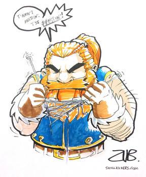 Gen Con- Dwarf Knitting