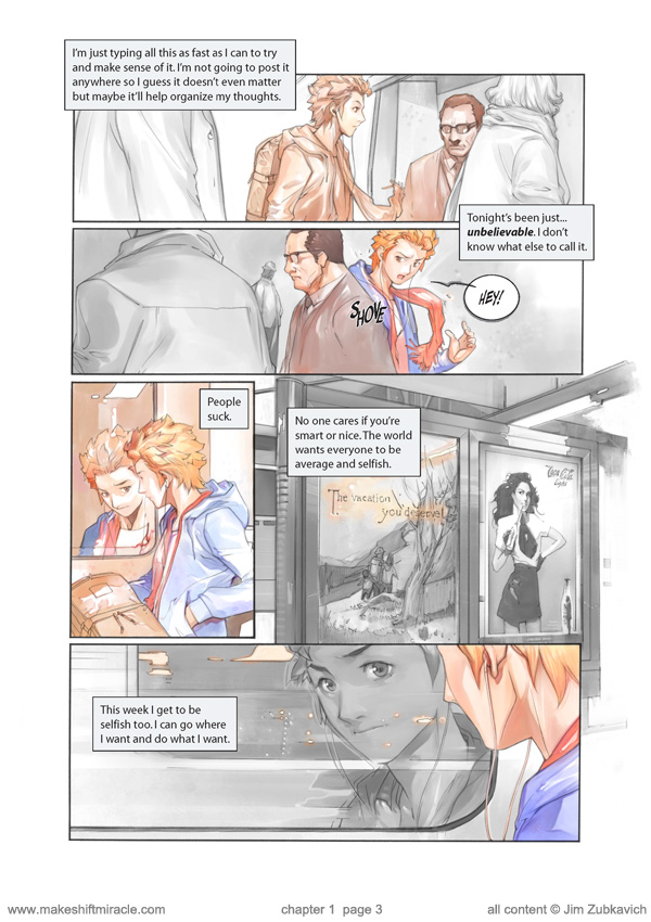 Makeshift Miracle Chap1 Pg3 by Zubby