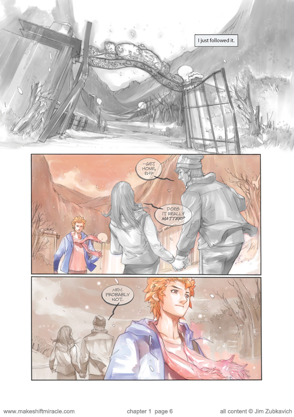 Makeshift Miracle Chap1 Pg6 by Zubby