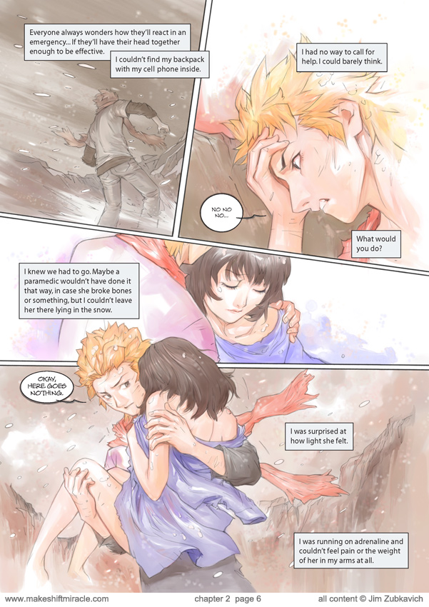 Makeshift Miracle Chap2 Pg6 by Zubby