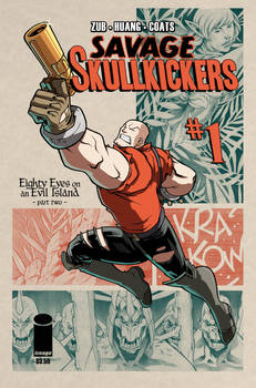 Savage Skullkickers #1 Cover