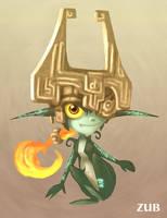 Zelda- Midna by Zubby