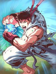 SF Card - Ryu by Zubby