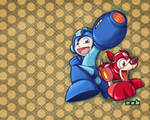 Mega Man Tribute - Wallpaper
