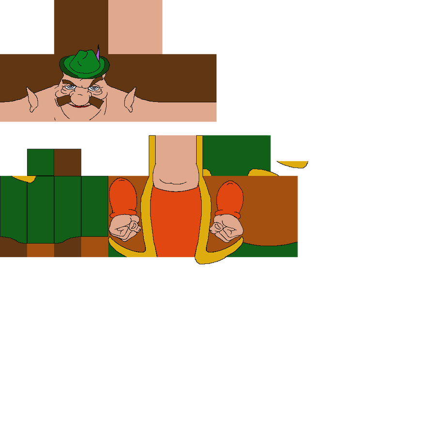 High Quality Morshu Minecraft Villager skin by bufothetoad8 on