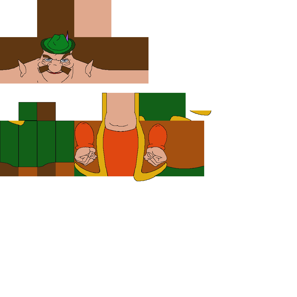High Quality Morshu Minecraft Villager skin by bufothetoad10 on