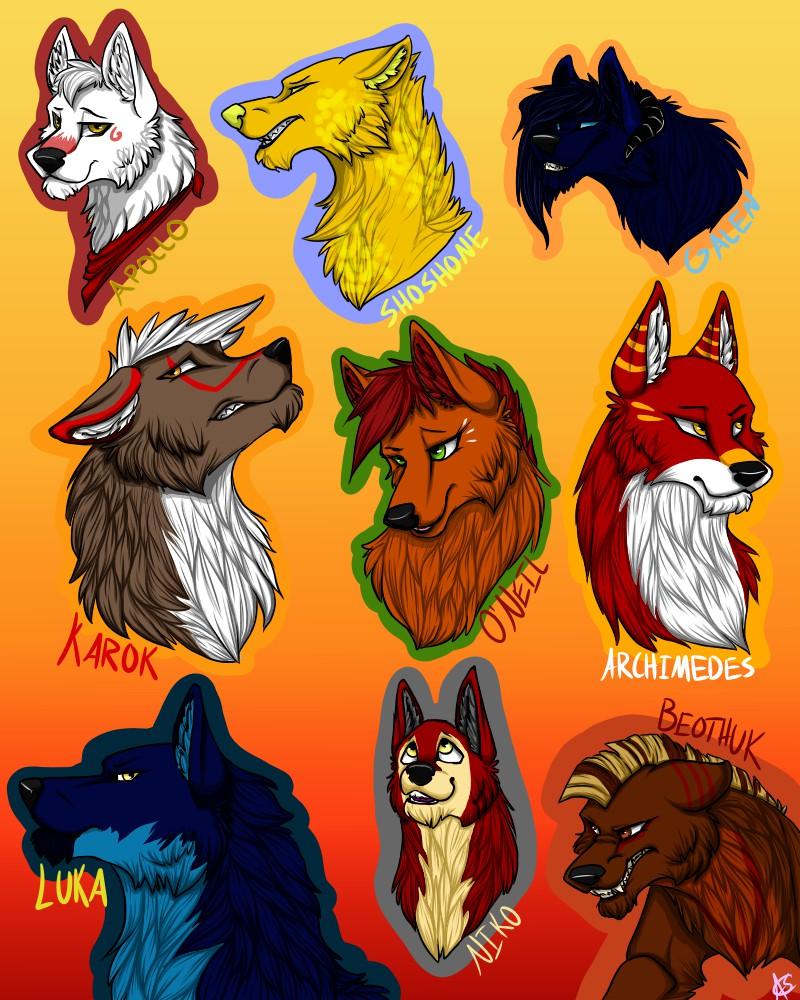 Old Dogs - Part 1 by DeadNekoLuv