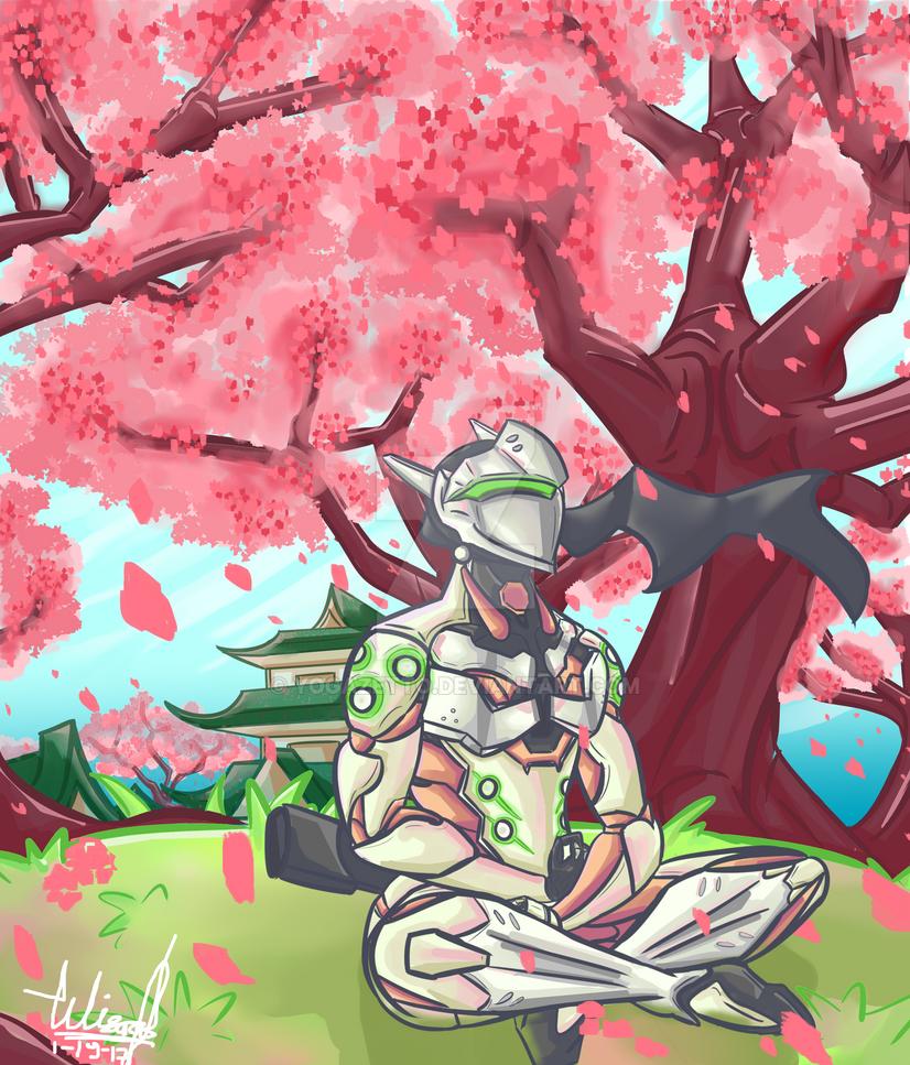 Genji fanart by yogazetto
