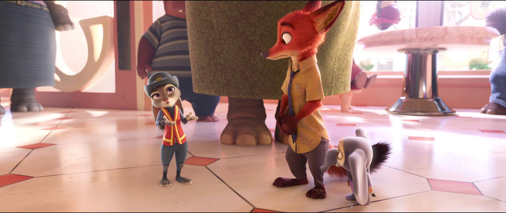 Judy asking about snot and mucus by Ggianoli