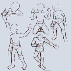 [Sketch] Pose Studies