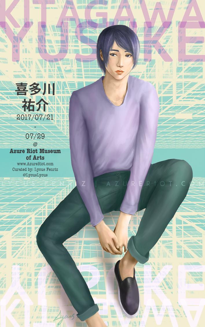Persona 5: Yusuke Kitagawa by LycusFenriz