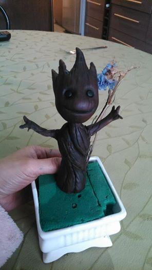 Baby Groot by Nyraira