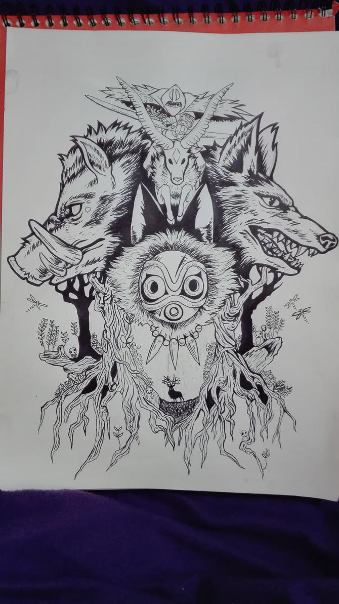 MononokePrincess by Nyraira