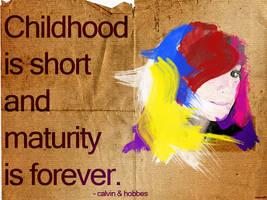 Childhood by IshaanMishra