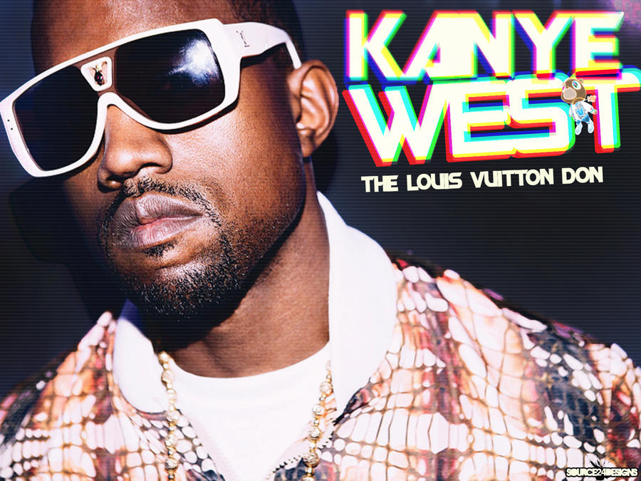 Kanye West Retro Wallpaper