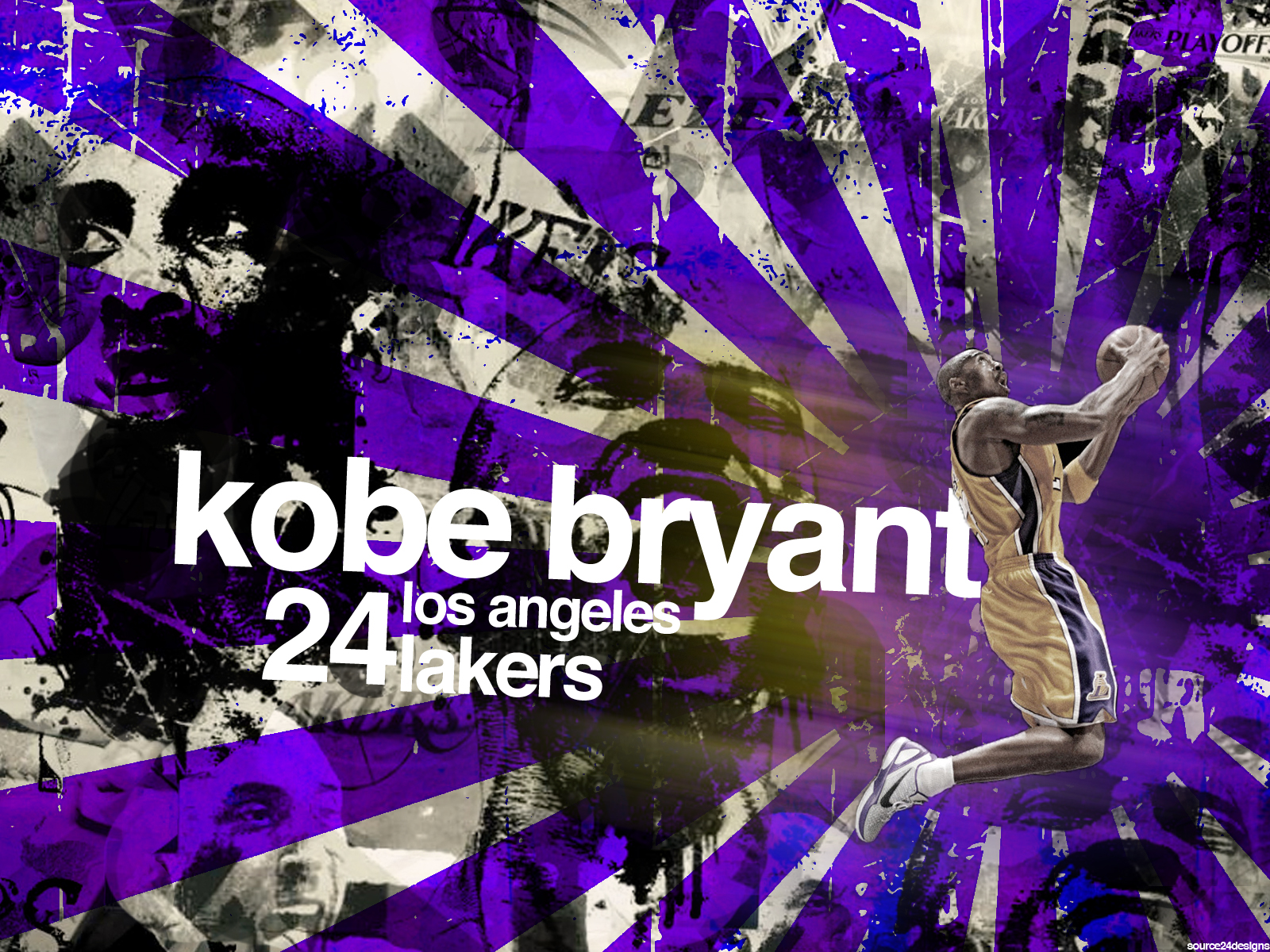 Kobe Bryant NBA Champion by Angelmaker666