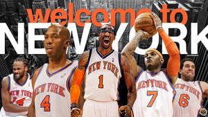 New York Knicks Wallpaper by IshaanMishra