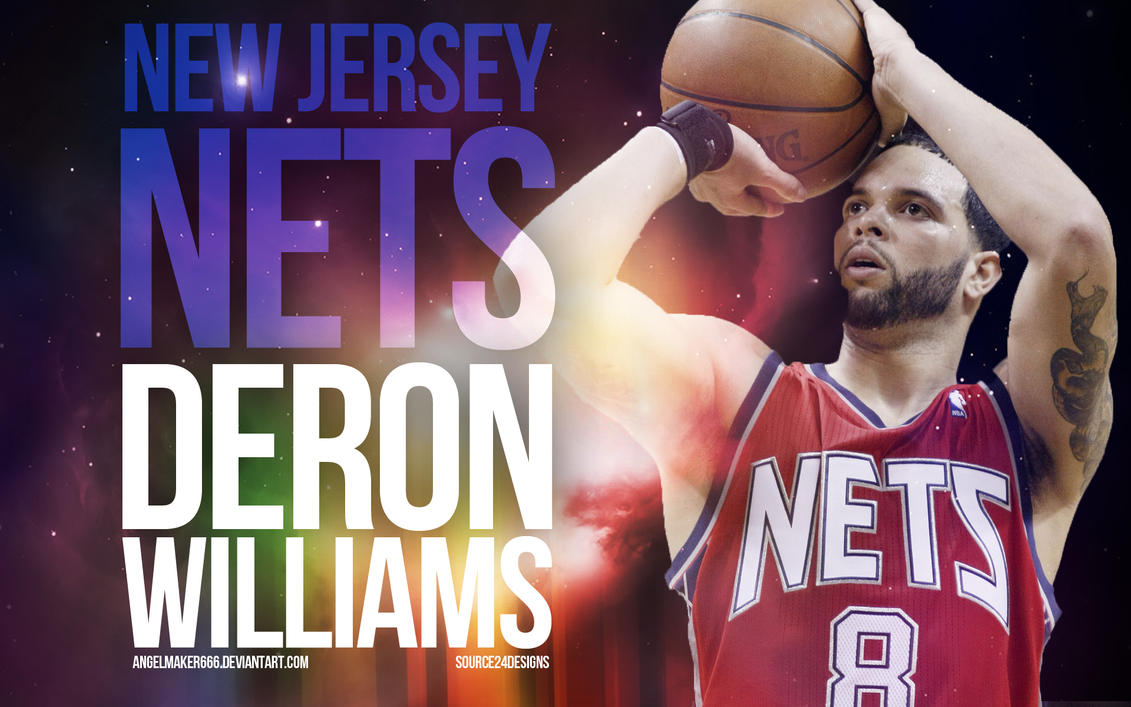 Deron Williams Nets Wallpaper by Angelmaker666