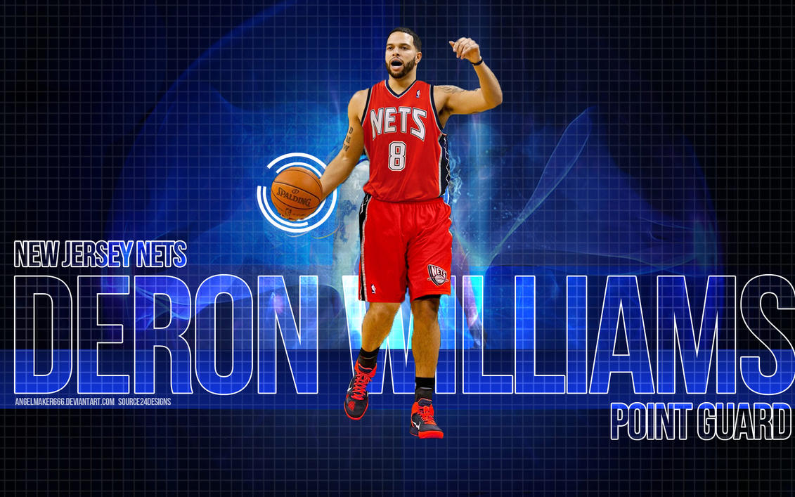Deron Williams New Jersey Net by IshaanMishra
