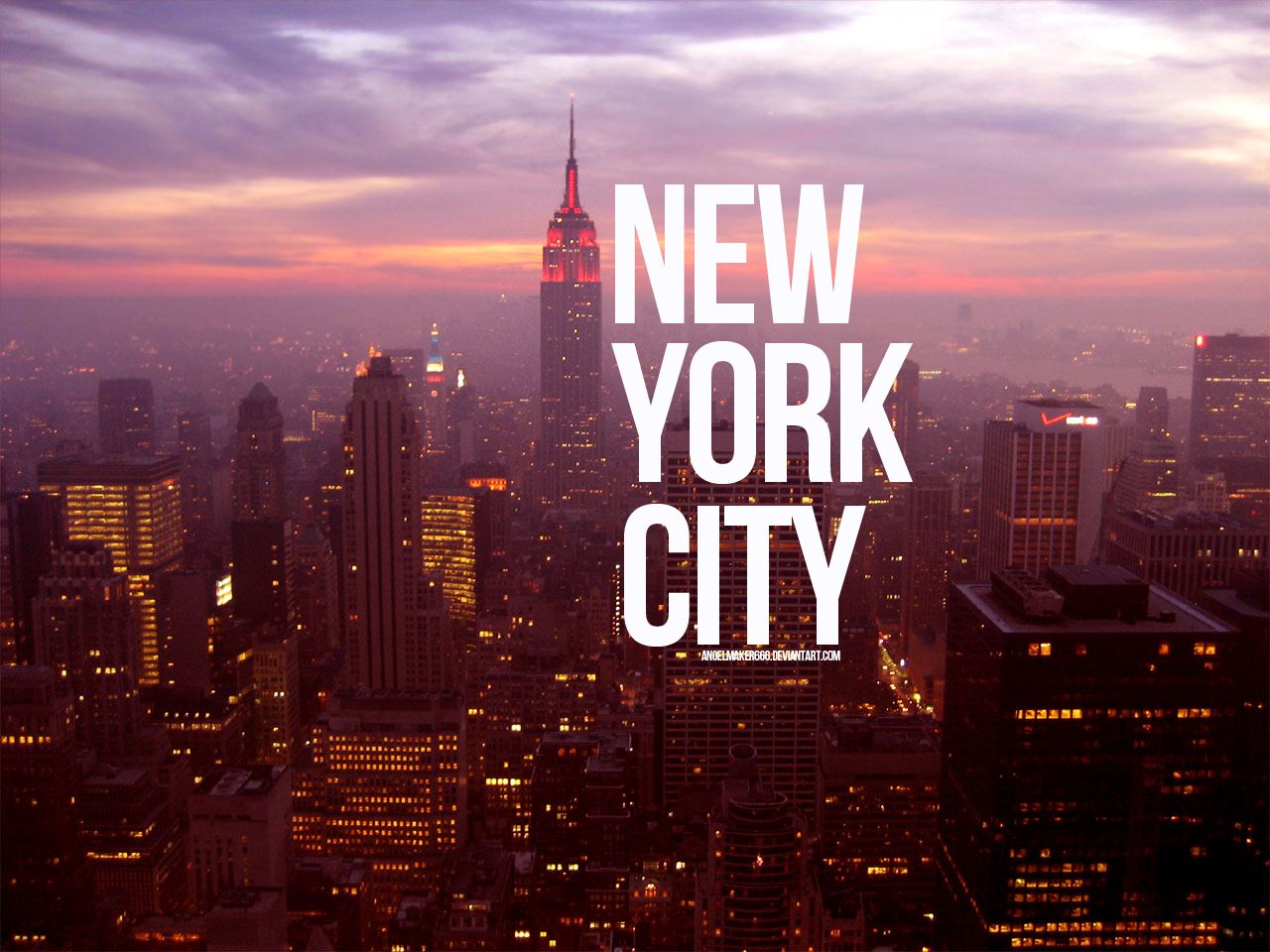 New York City Wallpaper by Angelmaker666