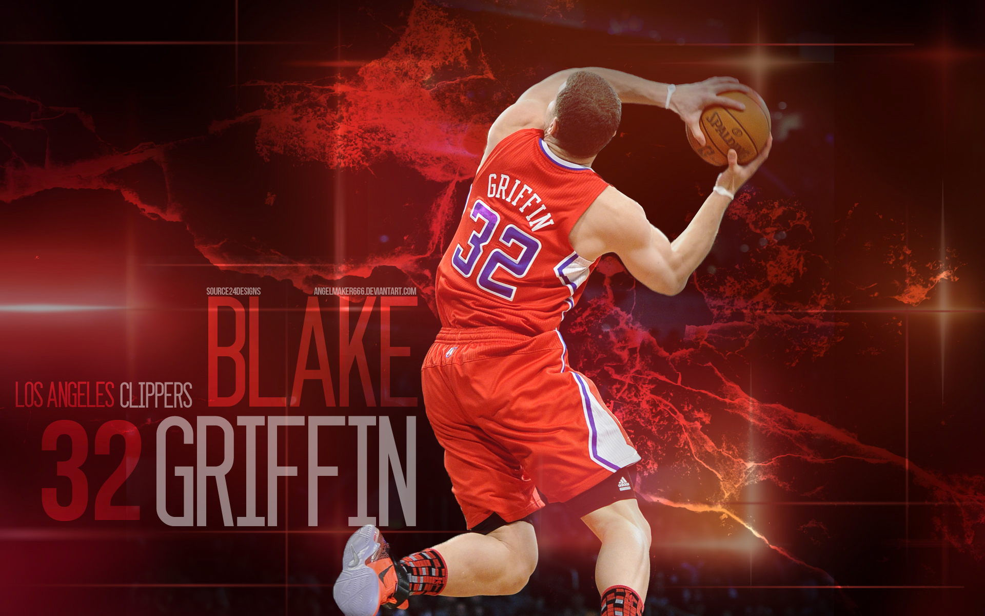 blake griffin wallpaperishaanmishra on deviantart