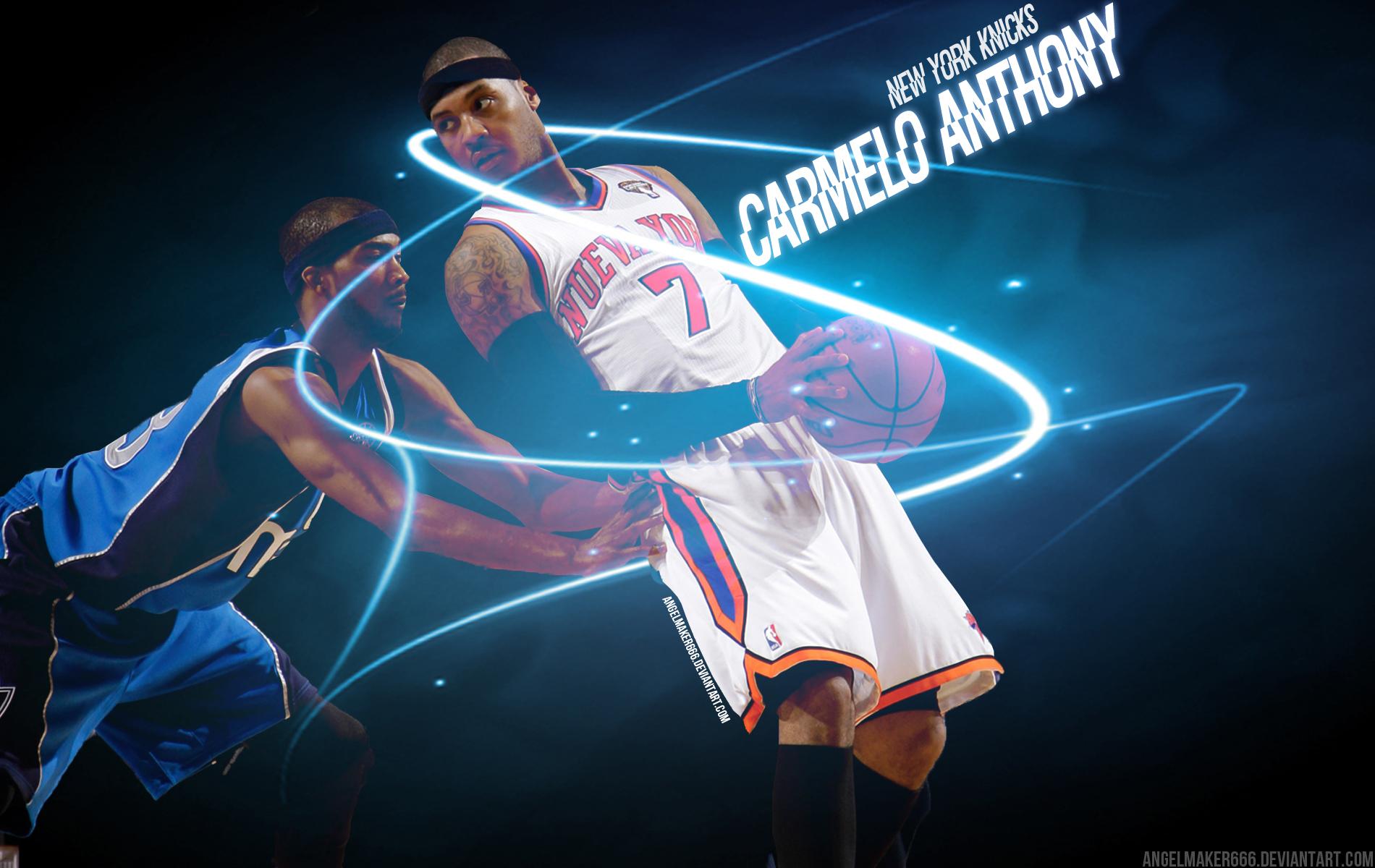 Ultimateknicks.com Forums: Carmelo Anthony Knicks Wallpaper