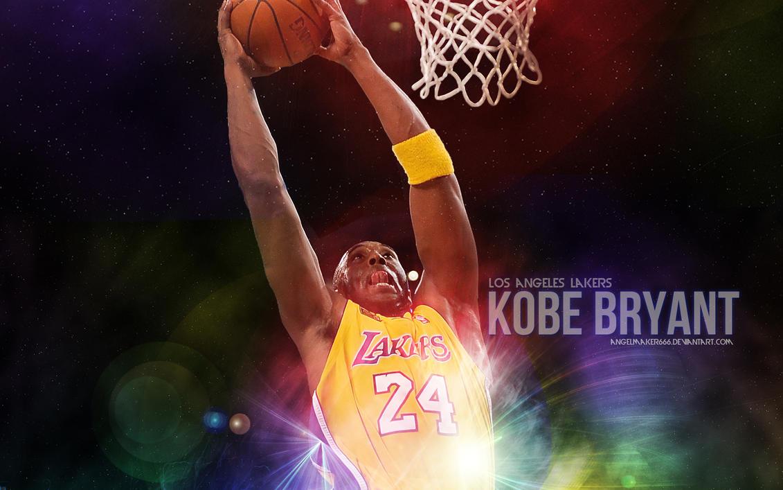 Kobe Bryant Dunking Wallpaper