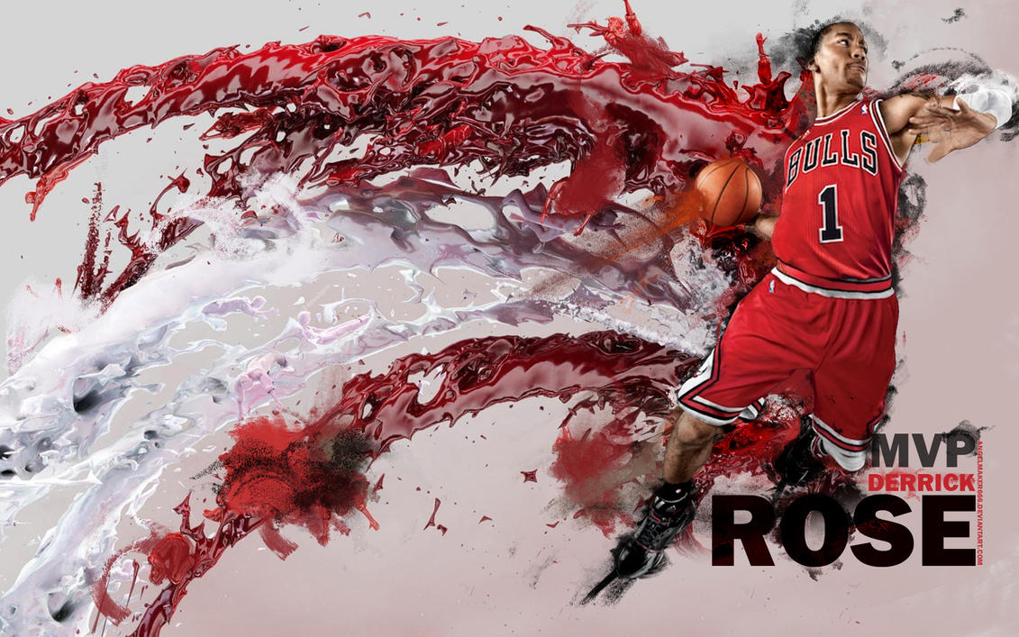 Derrick Rose MVP Wallpaper by IshaanMishra