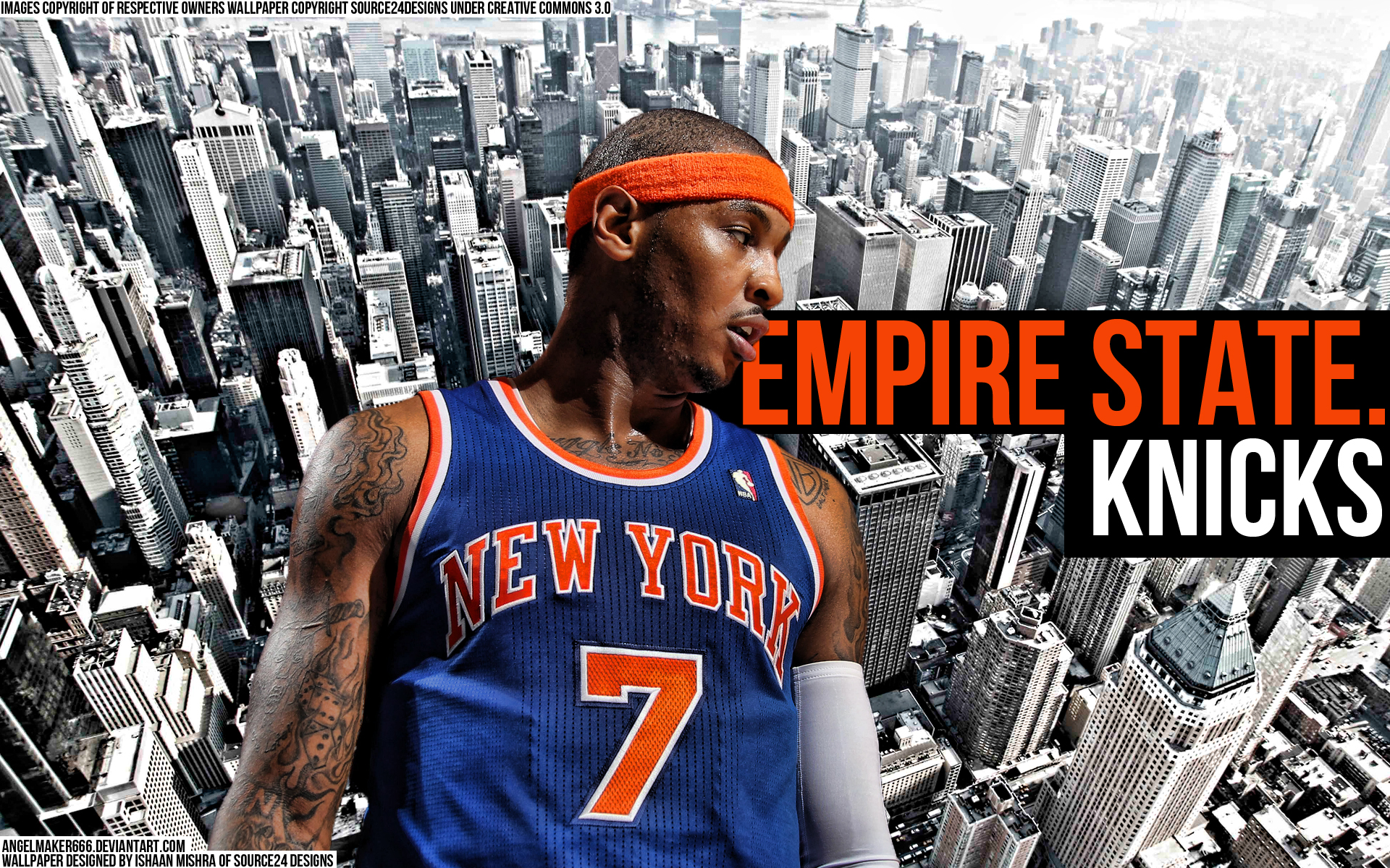 Carmelo anthony – empire state knicks by angelmaker666 1920