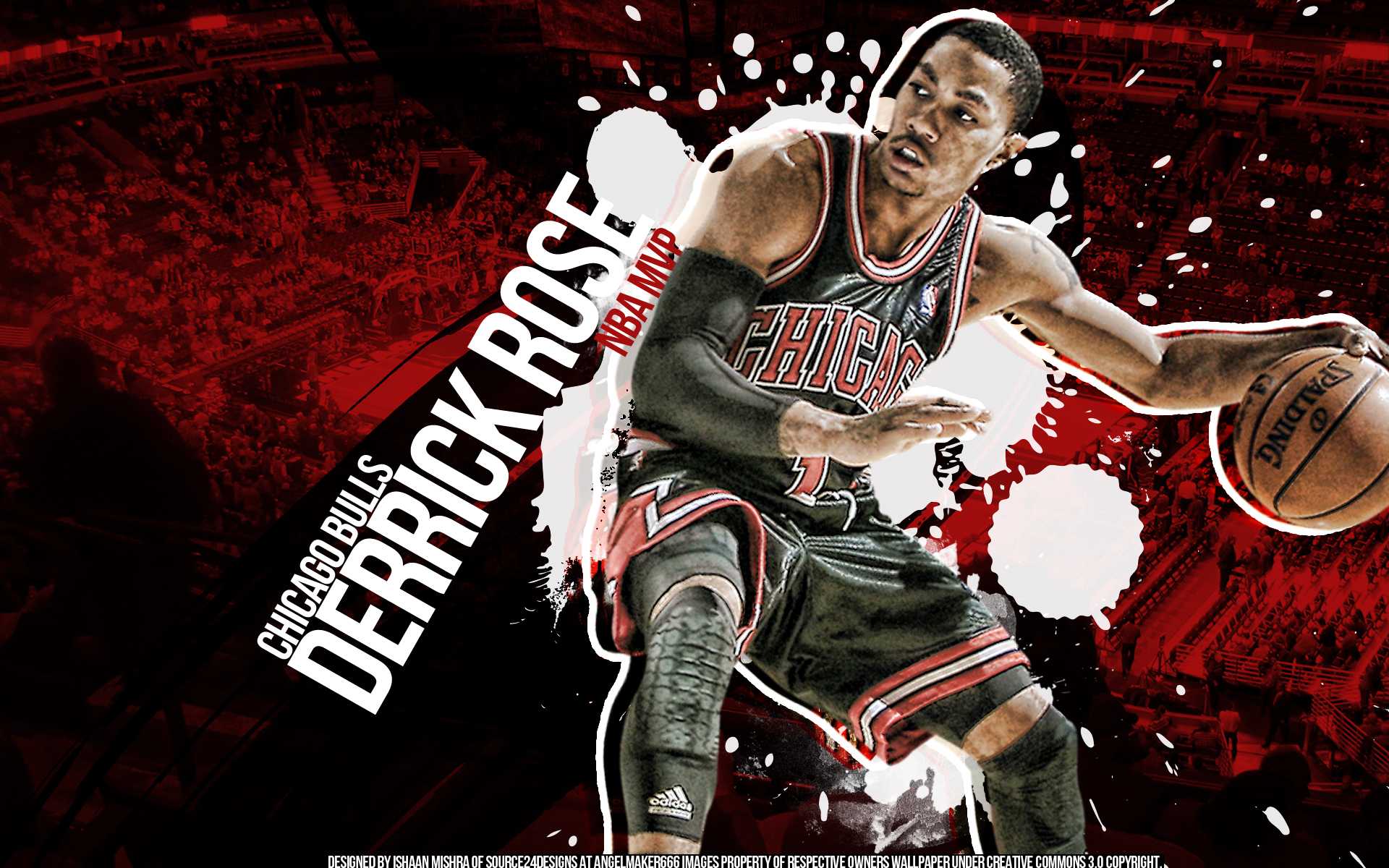 Derrick Rose MVP By IshaanMishra