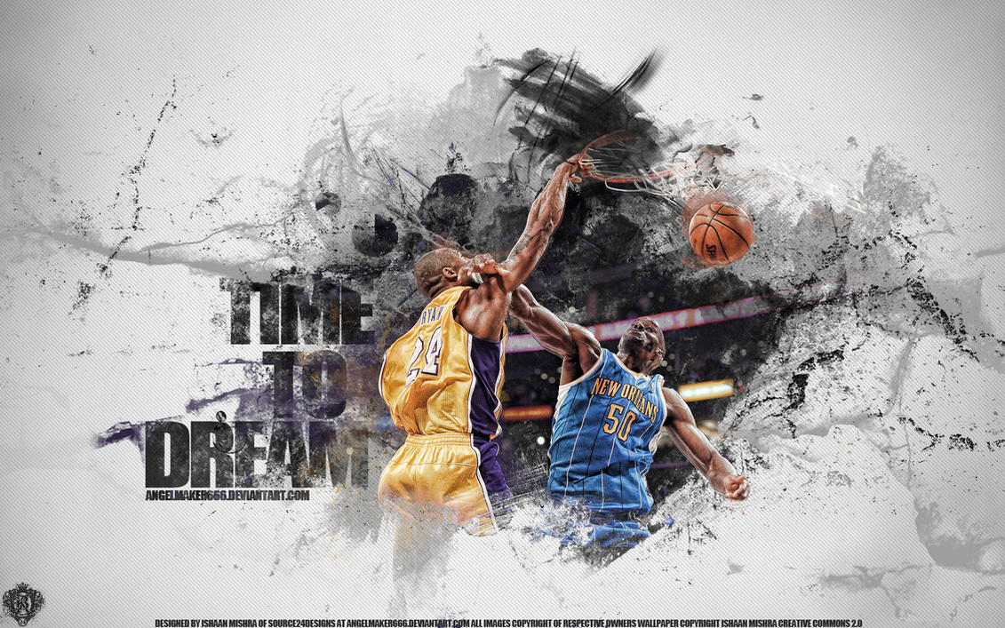 Kobe Bryant Dunk by Angelmaker666