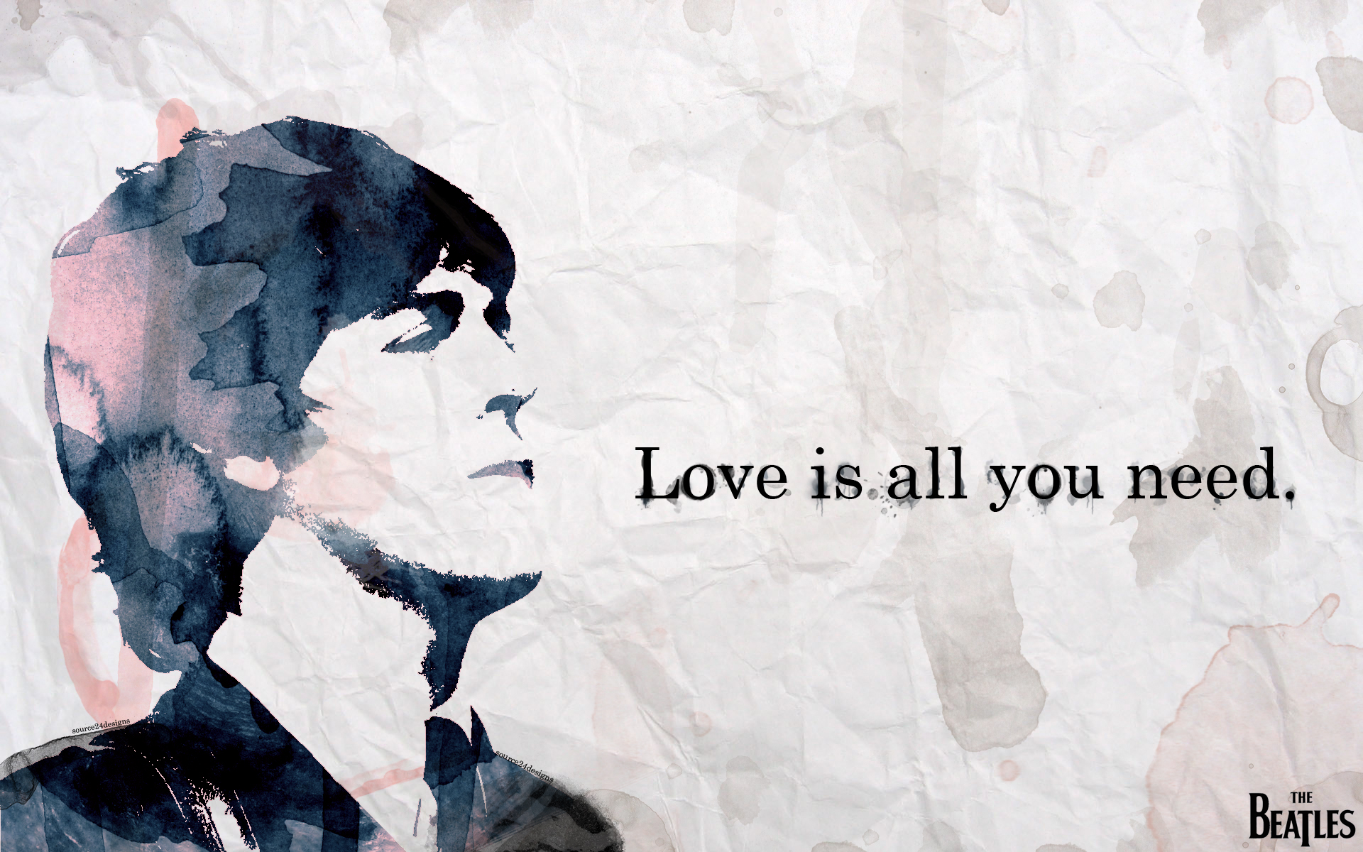 The Beatles Wallpaper by Angelmaker666