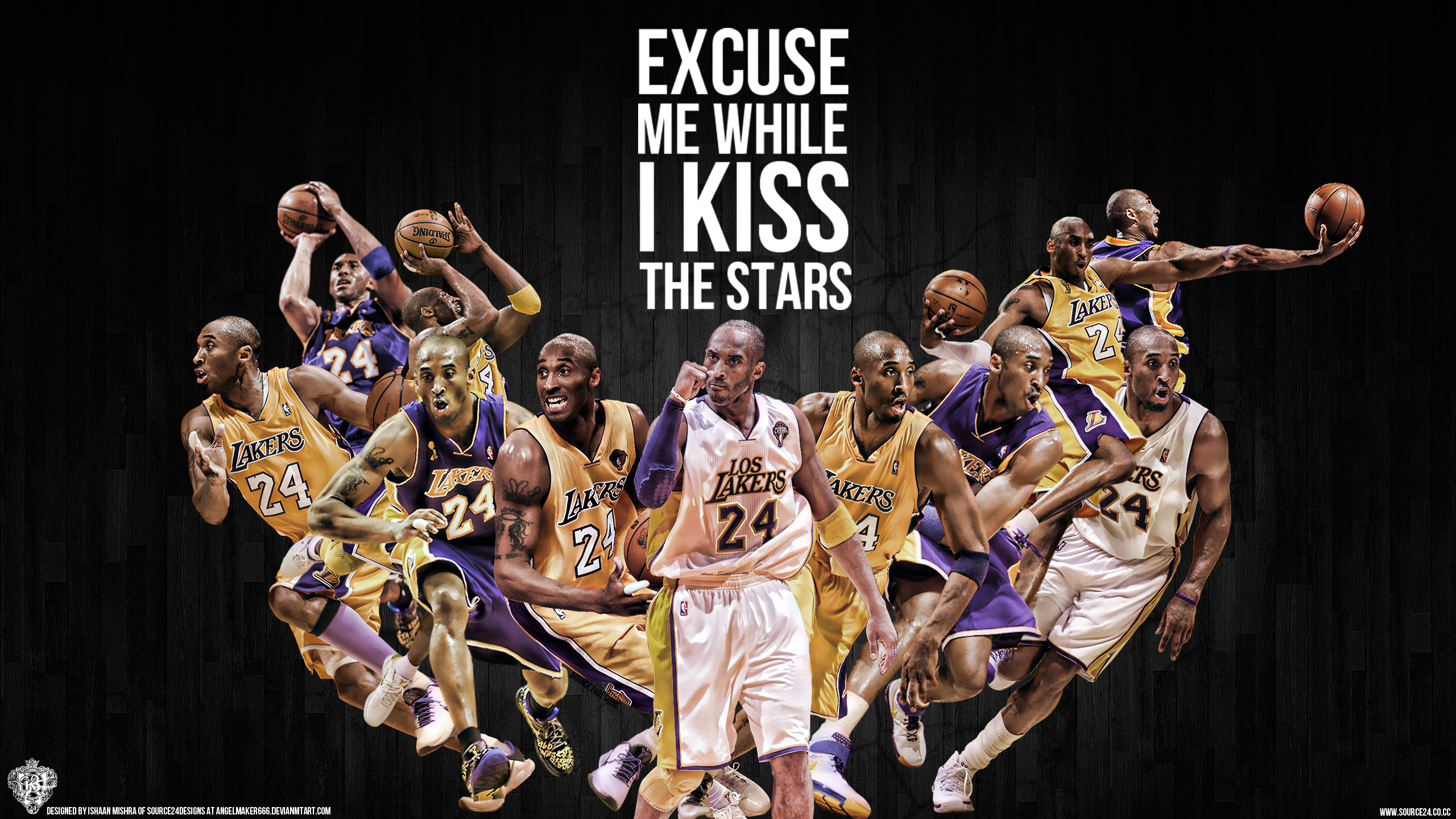 Kobe Bryant Wallpaper By Ishaanmishra On Deviantart