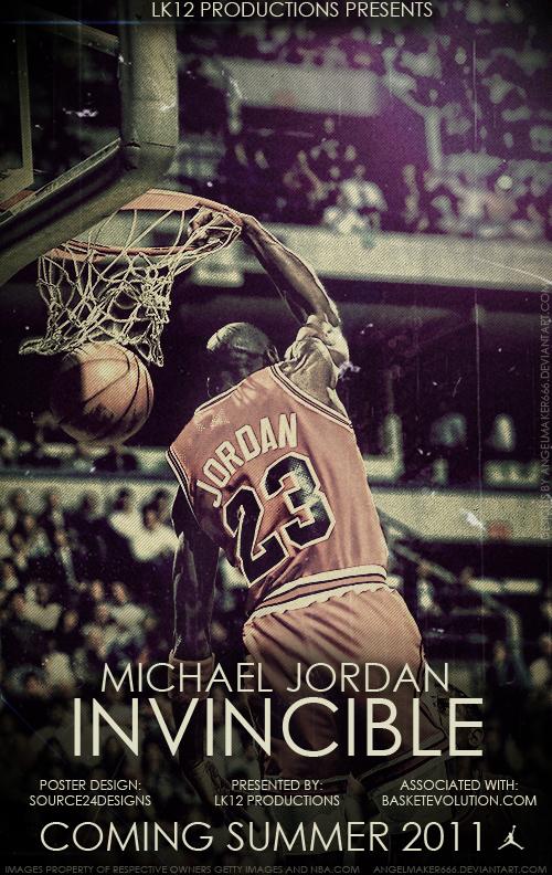 Michael Jordan: Invincible by IshaanMishra