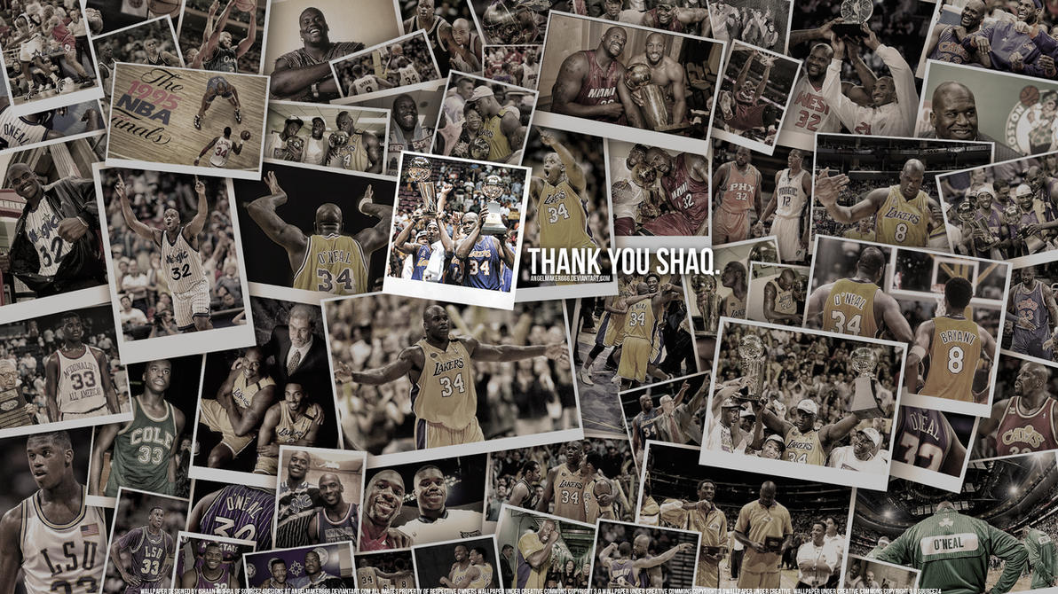 Shaq Tribute Wallpaper by Angelmaker666