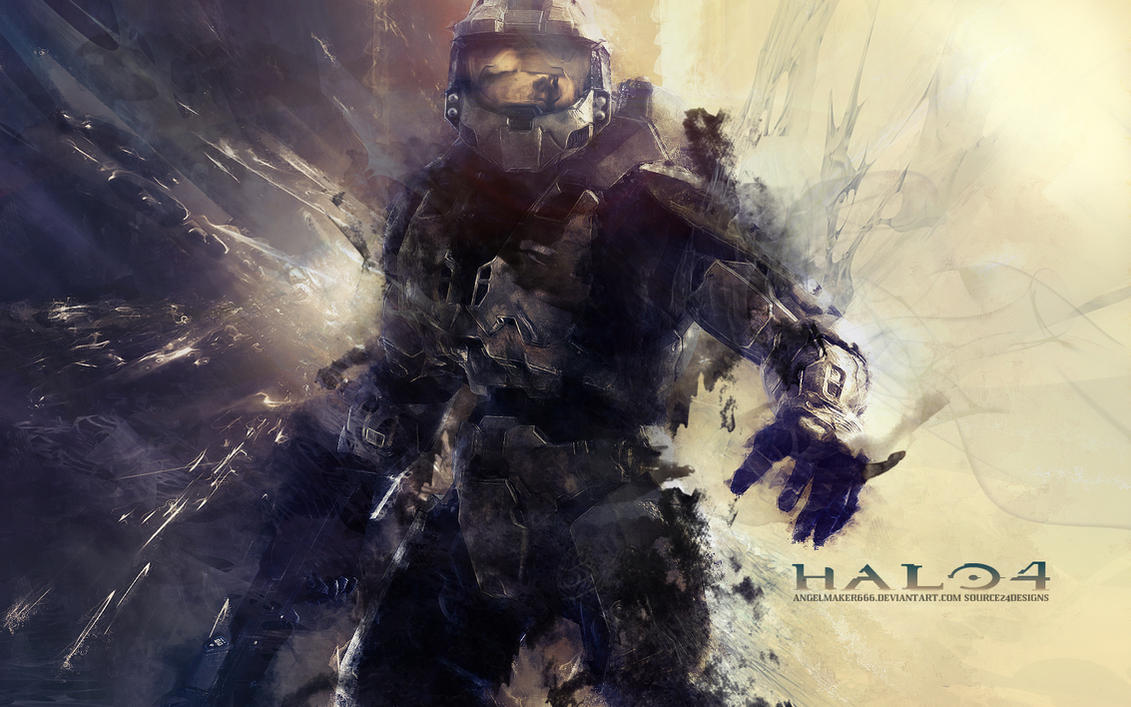 HALO 4 Wallpaper by IshaanMishra