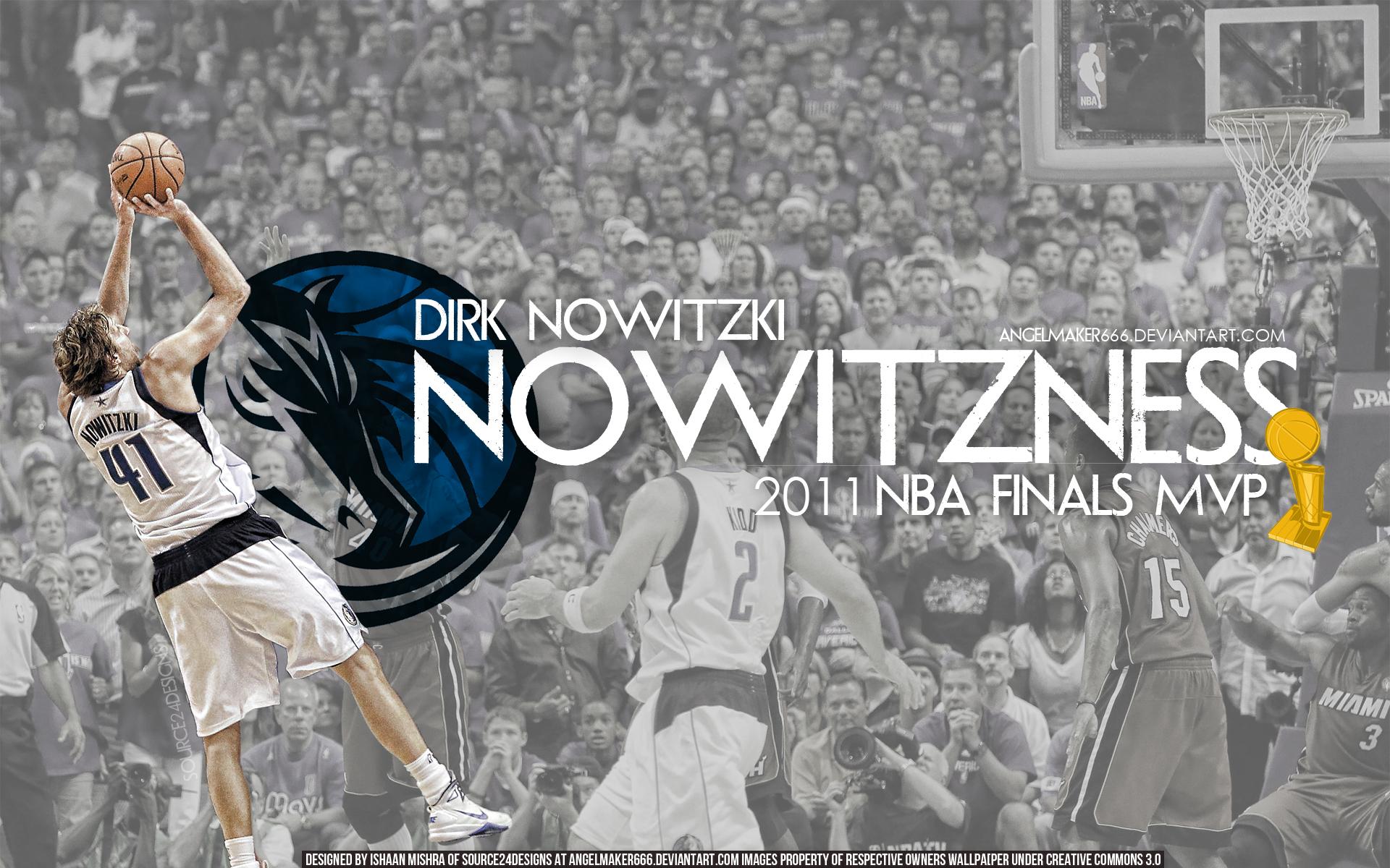 Dirk Nowitzki Finals MVP Wall by IshaanMishra