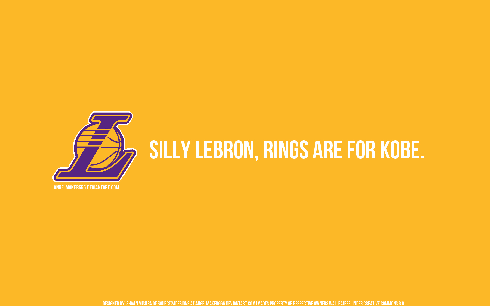 LeBron versus Kobe by IshaanMishra