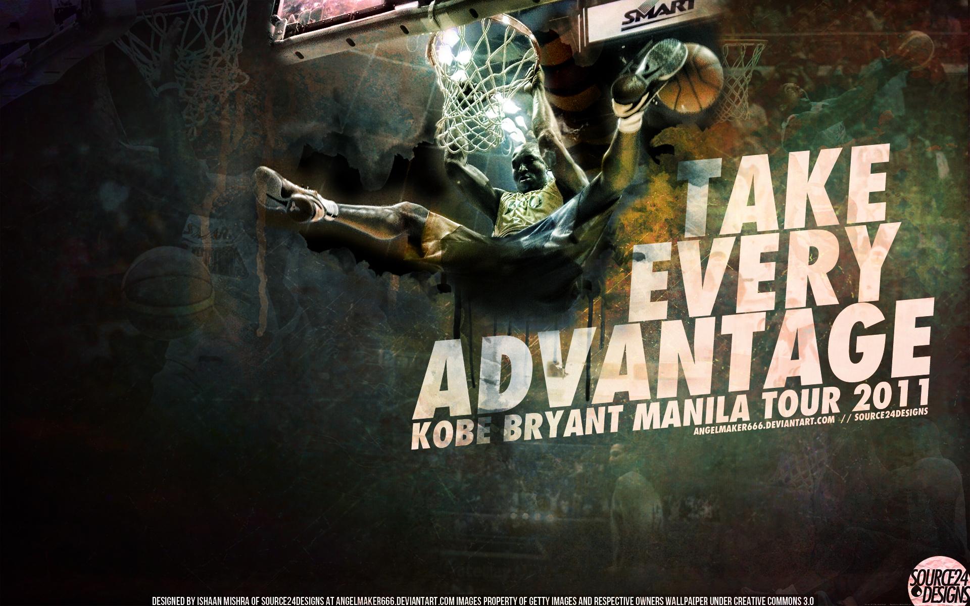 Kobe Bryant Manila Wallpaper by Angelmaker666