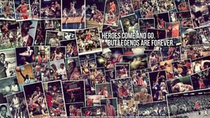 Michael Jordan Legend Wall