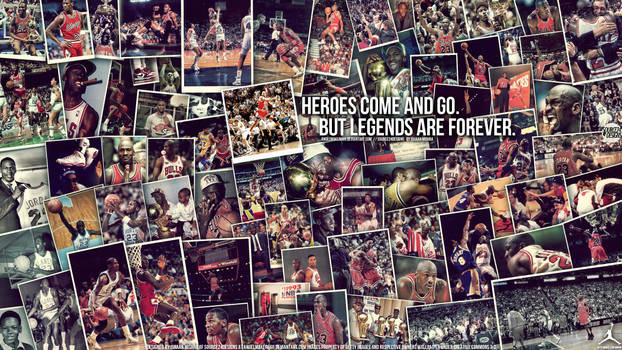 Michael Jordan Legend Wall