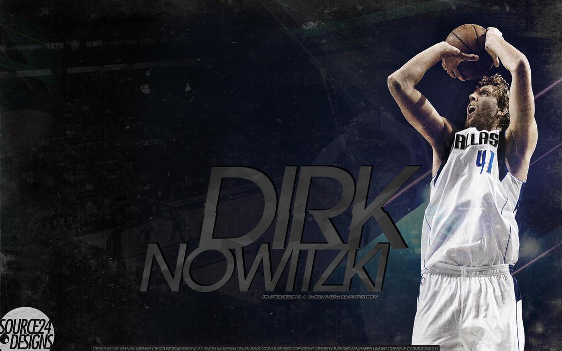 Dirk Nowitzki Wallpaper by Angelmaker666
