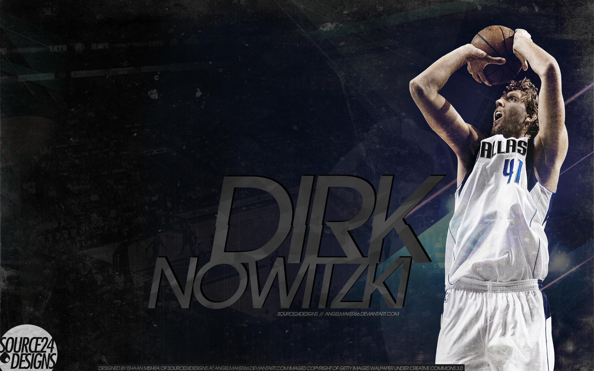 Dirk Nowitzki Wallpaper by IshaanMishra